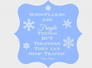 Things, But Together, they can stop Traffic -- Vance Havner quote ...