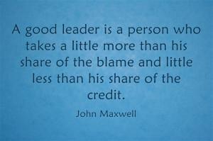 Team Leader Quotes