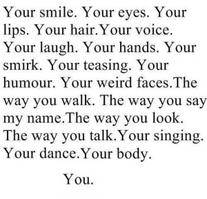 Romantic Things to Say to your Boyfriend & .