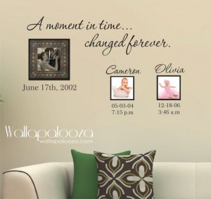 wall quotes moments in time scrapbooking in these moments time stood ...