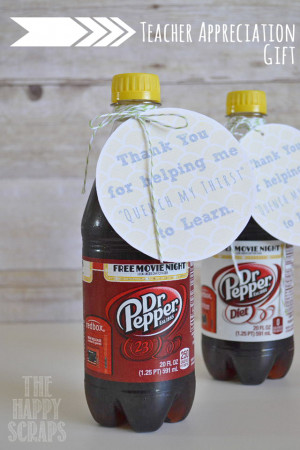 Teacher Appreciation Gift - Favorite Drink