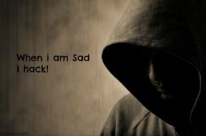 left hacking but still when i am sad it. Hack make me feels good!