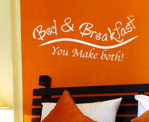 ... -Quote-Sticker-Vinyl-Art-Lettering-Bed-and-Breakfast-Guest-Room-H20