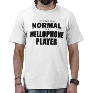 Normal Mellophone Player Tee Shirts