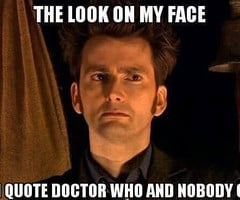 Doctor Who Quotes David Tennant Doctor Who Quotes David