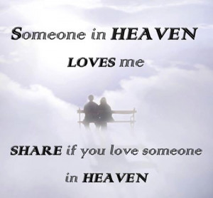 Someone in Heaven...