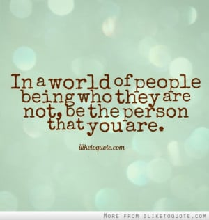 Individuality Quotes