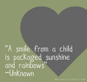 smile holds incredible power. It can change your day in an instant ...