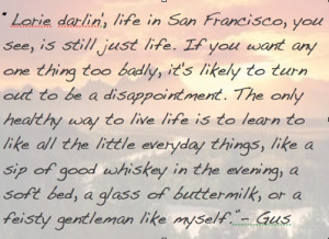 lonesome dove quote- my favorite novel. One of the best characters in ...