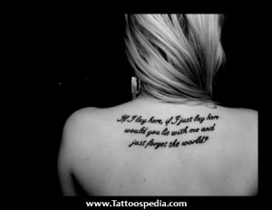 Christian Religious Quotes Tattoos » Cherry Creek Tattoos 269