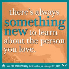 There's always something new to learn about the person you love. Mom