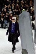Chanel2012 - On his beloved cat, Choupette: