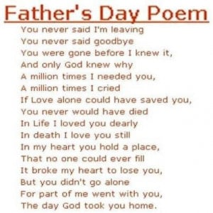 In Loving Memory Quotes For Dad Happy father's day quotes