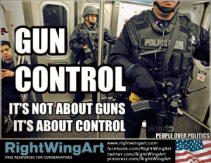 Gun control: It's the police state stupid!