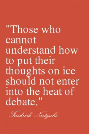 Debate quotes: Udc Quotes, Debate Quotes