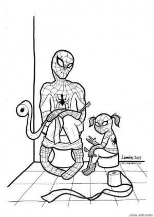 Mom's 'Super-Soft Heroes' Coloring Book Shows Little Boys That Emotion ...