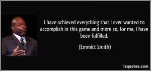More Emmitt Smith Quotes