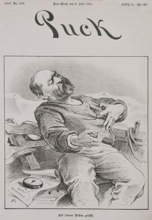 july 6 1881 president james a garfield auf seinem posten