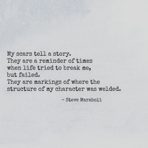 My Scars Are My Story