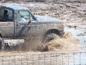 ford truck mudding Image
