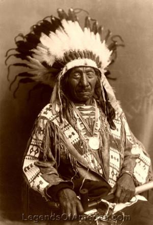 Oglala Lakota Sioux - Chief Red Cloud