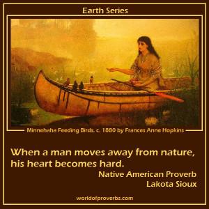 Native American Proverb, Lakota Sioux [19341]
