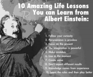 words of wisdom from albert einstein