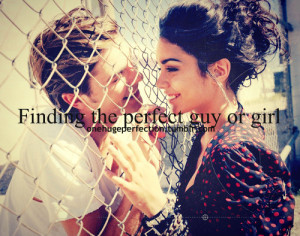 Finding The Perfect Guy Or Girl
