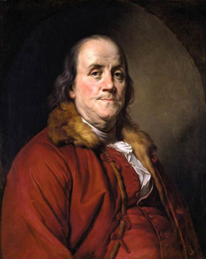 Benjamin Franklin: Ideal manly virtues