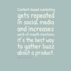 Content-based Marketing quote
