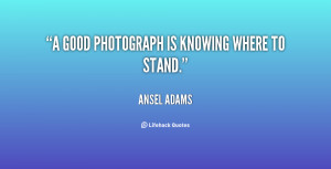Quotes By Ansel Adams Sayings And Photos Picture
