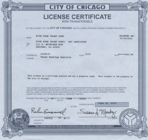 Valet Parking Service Chicago | Five Star Valet, Inc.