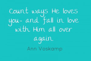 of quotes by Ann Voskamp | Fall in Love Again [and the thankfulness ...