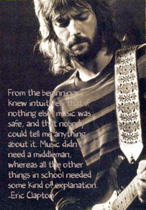 Eric Clapton Quotes