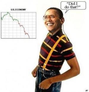 Obama Jokes: 'Shovel-Ready Was Not as Shovel-Ready as We Expected'