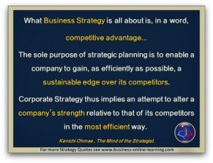 Gilt-Edge Strategy Quotes For Your Strategy Development