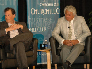 Salesforce.com CEO Marc Benioff and SAP Chairman Hasso Plattner dueled ...