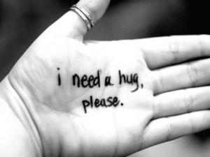 need a hug today.