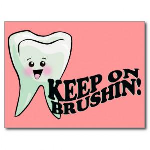 Dentist Dental Hygienist Humor Post Card