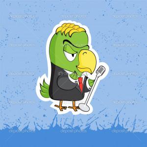 Funny cartoon characters - Stock Illustration