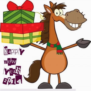 Funny Happy New Year Clip Art For You With The Symbol