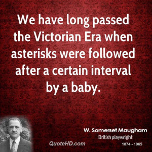 We have long passed the Victorian Era when asterisks were followed ...
