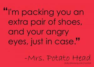 Mrs. Potato Head is a Great Wife