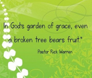 Pastor Rick Warren shares God's word in such a warm & endearing way.