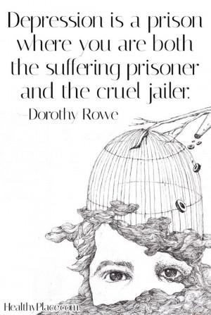 Illness Quotes Bipolar, Bipolar Depression Quotes, Suffering Prison ...