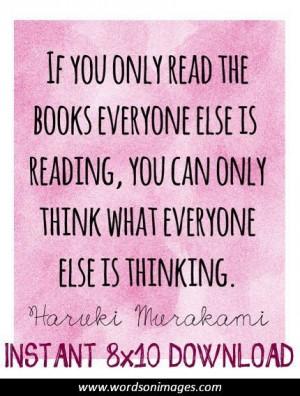 Famous reading qu...