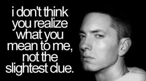 Eminem Slim Shady Face Quote