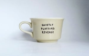 Quietly Plotting Revenge Hand Illustrated Quote Art by Farizula, $17 ...