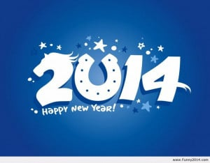 Happy New Year - 2014 - Year of the Horse! Go Colts!