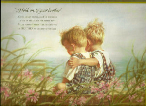 baby brother and big sister quotes 16075 wallpapers baby brother and ...